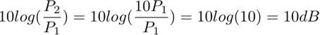 Tercera ecuacion logaritmica