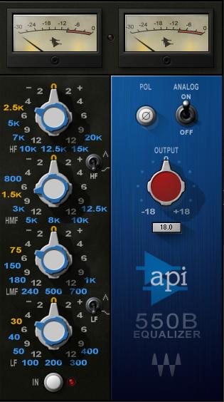 EQ API550B